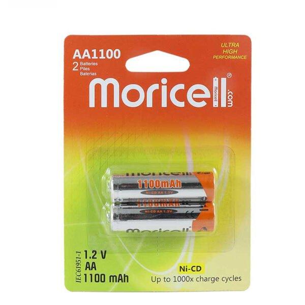 باتری قلمی شارژی 1100 میلی آمپر موریسل