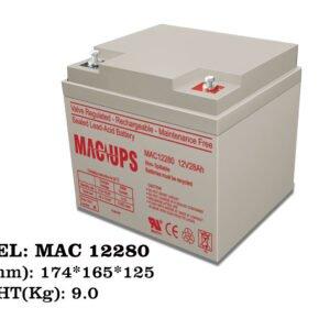 باتری مک مدل MAC 12V28Ah