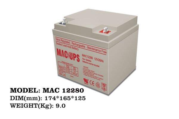 باتری مک 28 آمپر 12 ولت