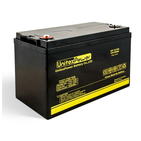 باتری یونیتکس پاور 100 آمپر 12 ولت مدل UP12100