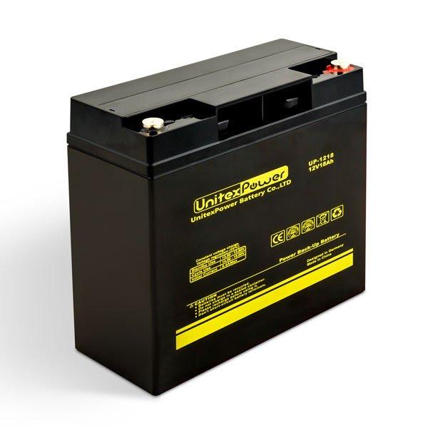 باتری یونیتکس پاور 18 آمپر 12 ولت 18 آمپر مدل UP1218