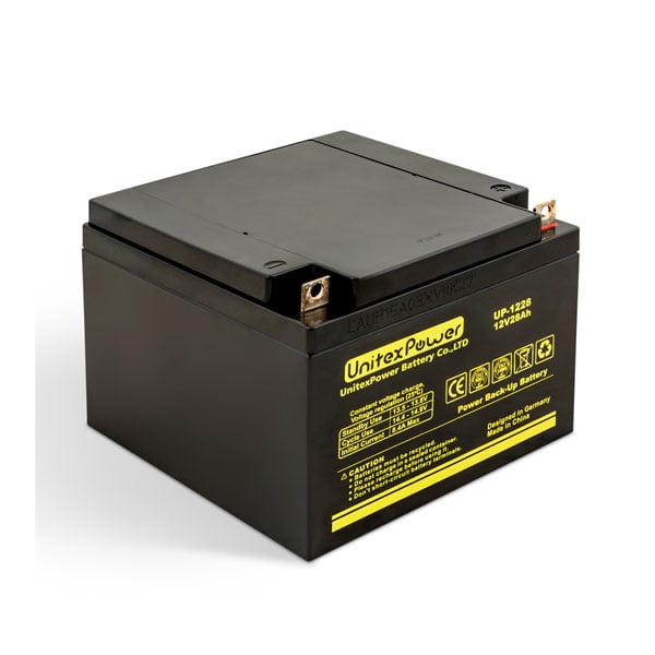 باتری یونیتکس پاور 28 آمپر 12 ولت 28 آمپر مدل UP1228