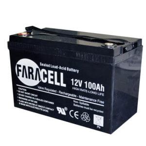 باتری فاراسل مدل 12V100AH