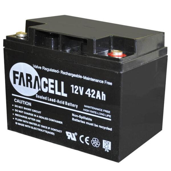 باتری فاراسل 42 آمپر 12 ولت