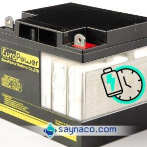 زمان پشتیبانی باتری