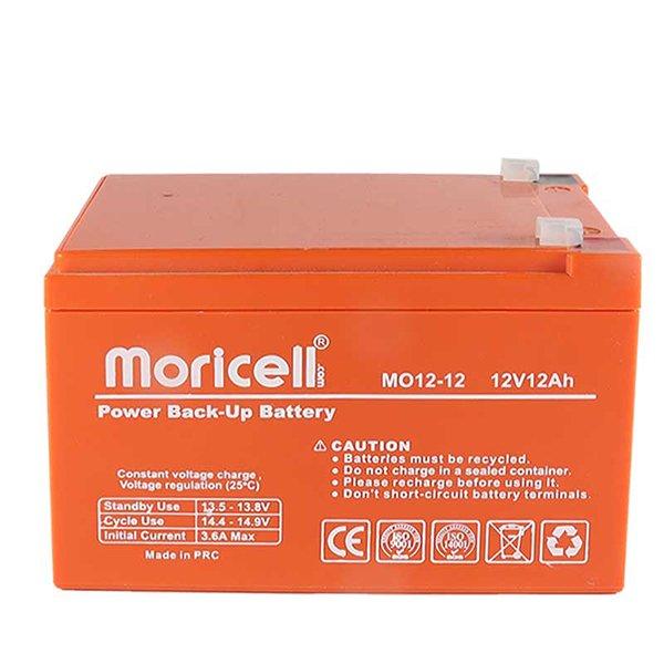 باتری موریسل 12 آمپر 12 ولت