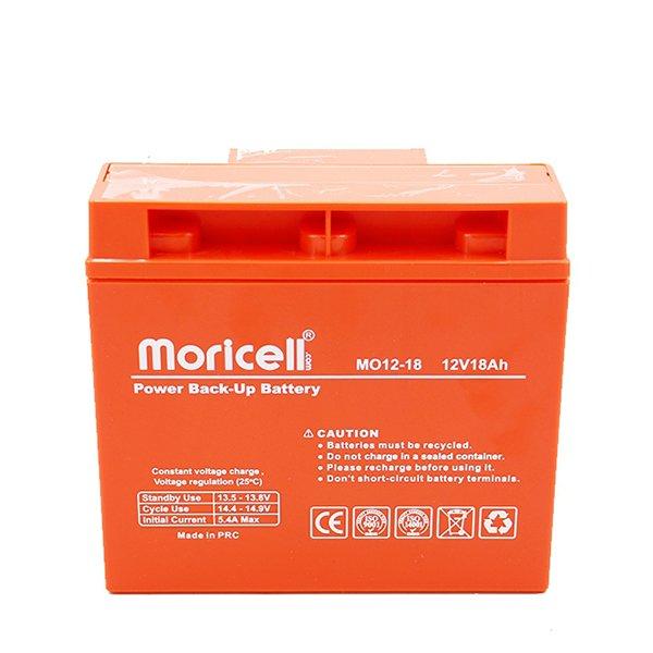 باتری موریسل 18 آمپر 12 ولت
