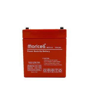 باتری موریسل 4.5 آمپر 12 ولت