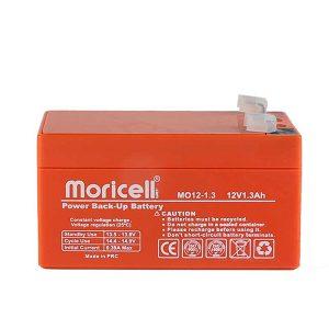 باتری موریسل 1.3 آمپر 12 ولت Moricell