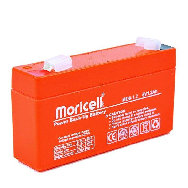 باتری موریسل 1.2 آمپر 6 ولت
