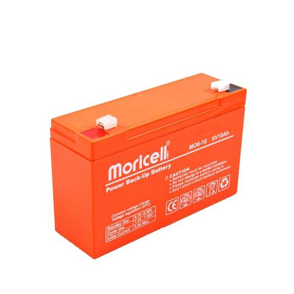 باتری موریسل 10 آمپر 6 ولت Moricell