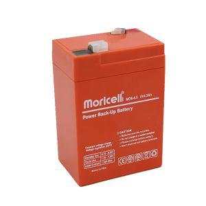 باتری موریسل 4.5 آمپر 6 ولت
