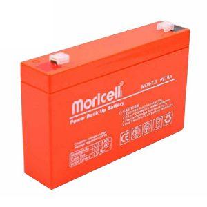 باتری موریسل 7 آمپر 6 ولت