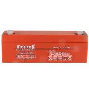 باتری موریسل 2.3 آمپر 12 ولت Moricell